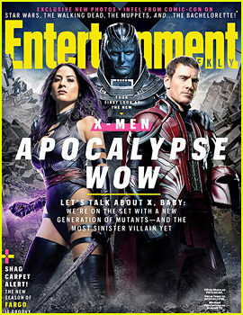 'X-Men: Apocalypse': First Look at Psylocke, Magneto & Apocalypse!