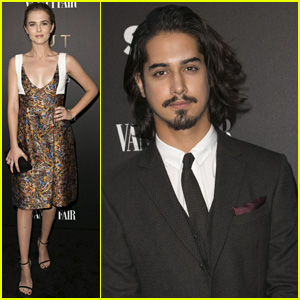 Zoey Deutch Supports Boyfriend Avan Jogia at 'Tut' Premiere