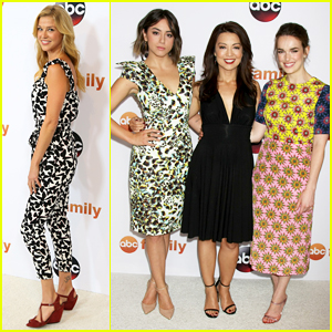 Adrianne Palicki & 'Agents Of S.H.I.E.L.D' Ladies Get Dolled Up for ABC's TCA Party!