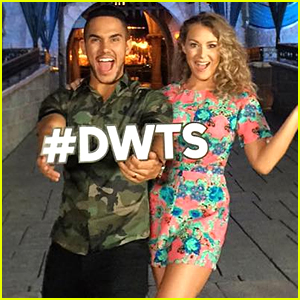 Husband & Wife Carlos & Alexa PenaVega Join 'Dancing With The Stars' Season 21