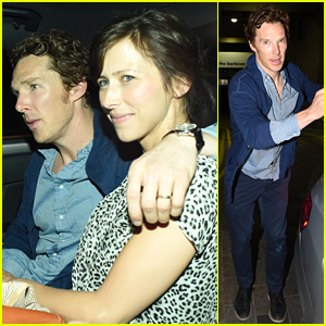 Benedict Cumberbatch Does His First 'Hamlet' Performance in London!