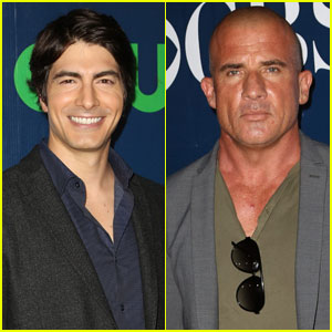 Brandon Routh & Dominic Purcell Are 'Legends' at TCA Bash