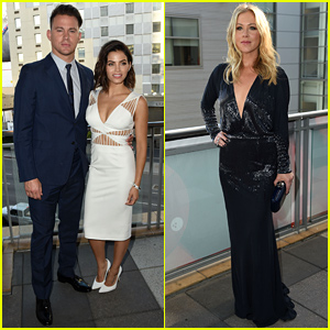 Channing Tatum Attends a Celebration of Dance After Closing 'Gambit' Deal