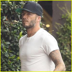 David Beckham Steps Out After Slamming Parenting Critics