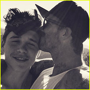 David Beckham Shares Sweetest Pic of Him & Brooklyn: 'I Love You Big Boy'