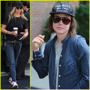 Ellen Page & Girlfriend Samantha Thomas Continue to Heat Up