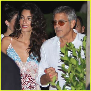 George & Amal Clooney Double Date With Another Famous Couple!