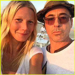 Gwyneth Paltrow Reunites with Robert Downey Jr. for Fun 'Pepperony' Selfie!
