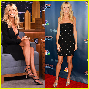 Heidi Klum Plays Box of Lies on 'The Tonight Show' - Watch Here!