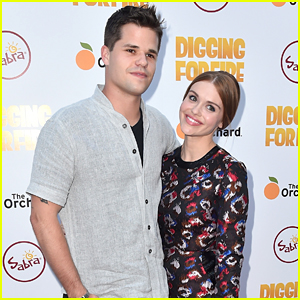 Holland Roden and Max Carver were once a couple.