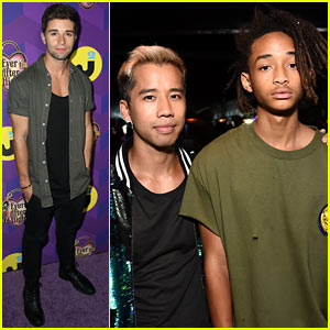 Jaden Smith Makes It a Boys' Night Out at Just Jared's Wonderland Party