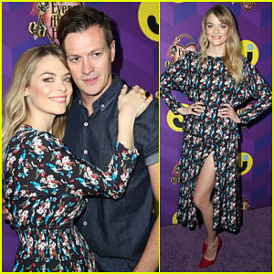 Jaime King Glams Up Just Jared's 'Way Too Wonderland' Party