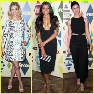 January Jones, Taraji P. Henson & Morena Baccarin Get Glam for Fox All-Star Party!