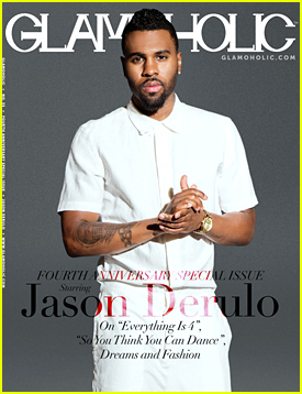 Jason Derulo Talks Working With Jennifer Lopez in 'Glamoholic' Mag
