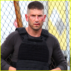 Jon Bernthal Films 'Daredevil' with Cuts on His Face