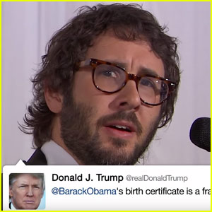 Josh Groban Sings Donald Trump's Tweets - Watch Now!
