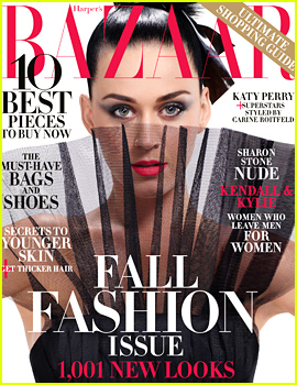 Katy Perry Covers 'Harper's Bazaar' September 2015 as Carine Roitfeld's Icon!