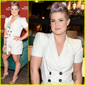 Kelly Osbourne Gets a Sneak Peek At New York City's World Market