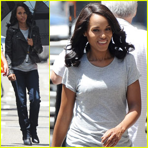 Kerry Washington Says Olivia Pope Doesn't Wear Perfume