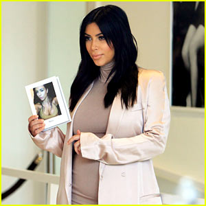 Kim Kardashian Celebrates 4th Printing of Her Book 'Selfish'