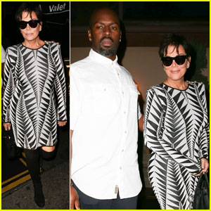 Kris Jenner Dines With Boyfriend Corey Gamble After Reuniting With Caitlyn for Kylie's Birthday