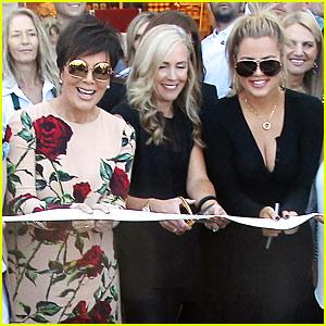 Kris Jenner & Khloe Kardashian Celebrate the Opening of Williams-Sonoma