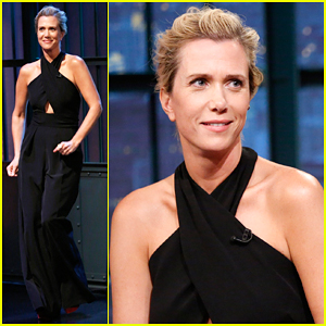 Kristen Wiig Dubs 'Late Night' Moments with Fred Armisen - Watch!