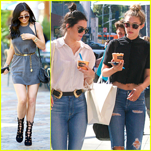 Gigi Hadid Grabs Greek Yogurt With Kendall Jenner Before Bachelorette Party Fun