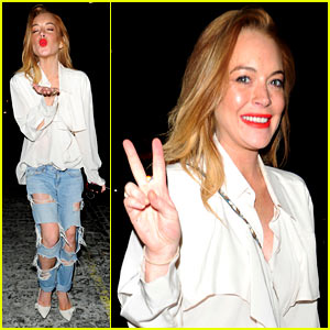 Lindsay Lohan Thinks This Movie Would Be a Cool Play
