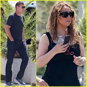 Mariah Carey & Boyfriend James Packer Make It 'Through The Rain' in Ibiza