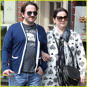 Melissa McCarthy Takes a 'Ghostbusters' Break to Hang with Her Husband!