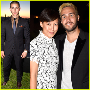 Nick Jonas & Pete Wentz Hit Up Billboard's Men Of Style Fete Ahead of VMAs