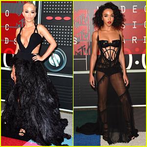 Rita Ora & FKA Twigs Show Major Skin At MTV VMAs 2015