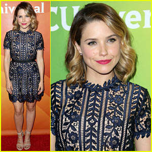 Sophia Bush Attends the TCA Tour with 'Chicago Med' Cast!
