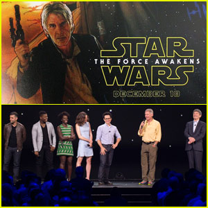 New 'Star Wars: The Force Awakens' Poster Revealed at D23