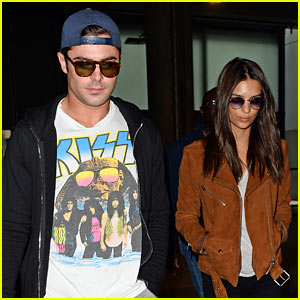 Zac Efron & Emily Ratajkowski Kick Off the 'WAYF Tour'
