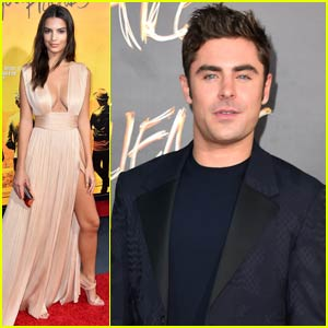 Zac Efron & Emily Ratajkowski Premiere 'We Are Your Friends' in Hollywood