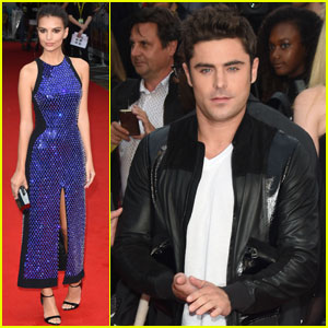 Zac Efron & Emily Ratajkowski Pair Up for 'We Are Your Friends' Premiere in London