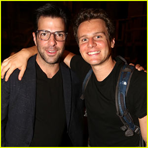 Zachary Quinto Reunites with Ex-Boyfriend Jonathan Groff