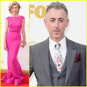 Alan Cumming & Christine Baranski Are Supporting Nominees at Emmy Awards 2015