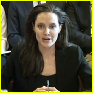 Angelina Jolie Speaks Out Against Sexual Violence In Conflict (Video)