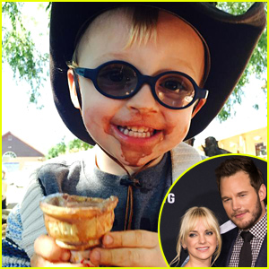 Chris Pratt & Anna Faris' Son Jack Is Too Cute!