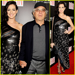 Anne Hathaway & Robert de Niro Premiere 'The Intern' in NYC!