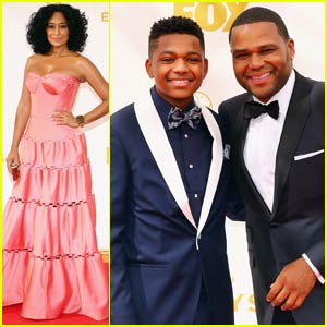 Anthony Anderson & Tracee Ellis Ross Bring 'Black-ish' to Emmy Awards 2015