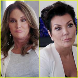Caitlyn & Kris Jenner Have a Tense Conversation About Kylie Jenner's Graduation