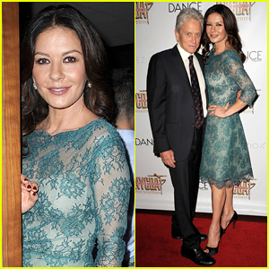 Catherine Zeta-Jones & Michael Douglas Couple Up At NYC Dance Alliance Gala!