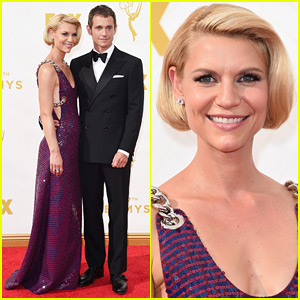 Claire Danes & Hugh Dancy Are Picture Perfect on Emmys 2015 Red Carpet