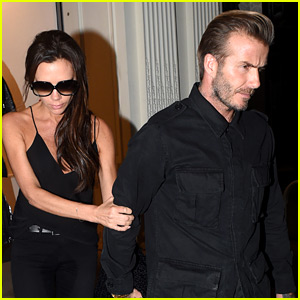 David Beckham Supports Victoria at London Store Event!