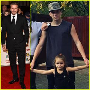 David Beckham Kids on hoverboard Celebrities on hoverboards mega list 2016 best hoverboard brands