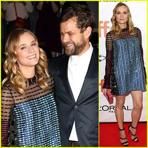 Diane Kruger Gets Joshua Jackson's Support at TIFF Premiere!
